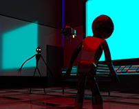 spaceman 3D maya