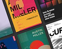 Posters (September 2017 – April 2018)