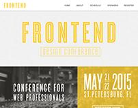 Front End Website