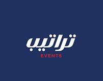 Tratib Events - Rebranding