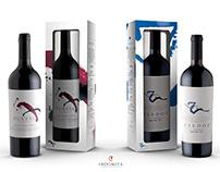 Propuestas caja de vinos, Zardoz y Duette.