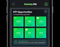 Fidelity App Rebrand Explorations