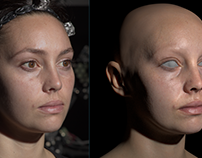alSurface primary skin shading