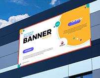 Free Advertising Banner Mockup