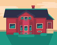 House Ilustrace
