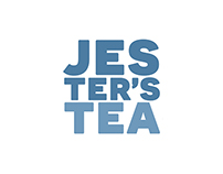 Jester's Tea - package design