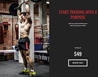 Trainers Page - Fitness WordPress Theme