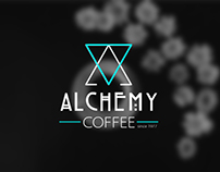 "Coffee packaging design ""Alchemy"""