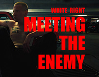 """WHITE RIGHT: MEETING THE ENEMY"" Film Logo & Identity"