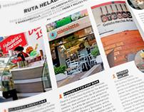 Fotografias revista Cocina Semana.