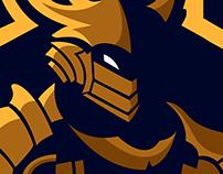 Assassin Mascot Logo (sold)