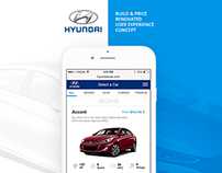 Hyundai B&P :: Mobile Web UX