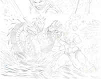 Hercules Pg.1 Pencils