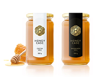 HoneyCasc Label Design