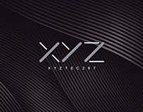 XYZ creative agency logo animation