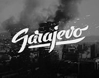 Sarajevo - hand lettering