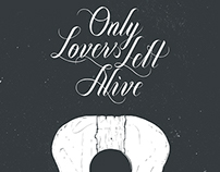 Only Lovers Left Alive Illustrated Poster Series