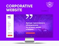 Website for sound agency