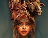 Girls Boys and Animals