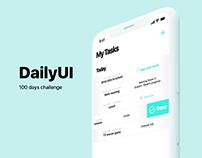 Daily UI - 100 days challenge