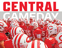 Central College 2018 Football Program Covers