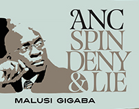 Spin, Lie &Deny it's the African National Congress way