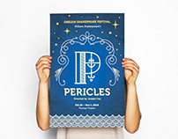 Pericles Shakespeare Poster
