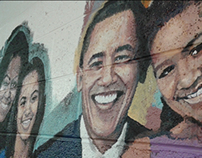 Dossin Elementary-Middle Mural #2 - The First Family