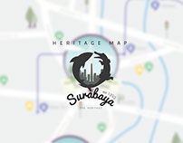 Surabaya Heritage Map