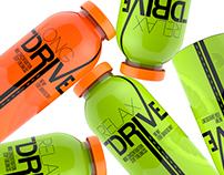 Energy drink bottle design
