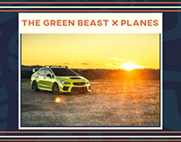 The Green Beast x Planes
