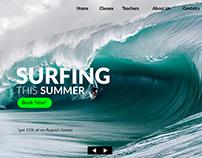 Surfing School Website