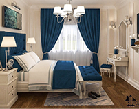 Blue bedroom ''