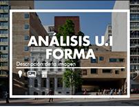 Análisis U.I Forma: Descripción imagen/ ARQU-3830