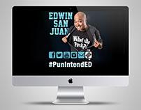 Edwin San Juan Splash Page