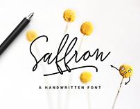 Saffron Handwritten Font