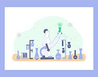 Web Illustrations / Save On Cannabis