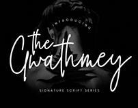 THE GWATHMEY - FREE SIGNATURE SCRIPT FONT