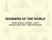Wonders of the World | Illustrations