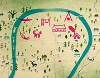 Visual Identity for Husky Village