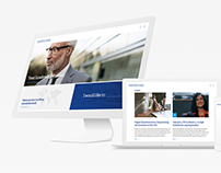 Stanton Chase Identity & Website Redesign
