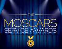 The Moscars - Logo, Brand, and Exhibition design