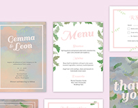 Dreamy – Wedding Invitation