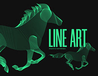 Line Art | Animals - Illustrator | Design
