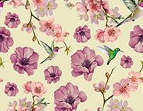 Criação de Estampa tema :. Flowers