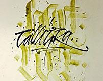 Calligraphy & Calligraffiti mix collection 6