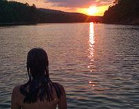 Georgia Sunset Parallax Photo