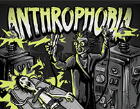 Anthrophobia - CD cover