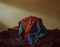 """Still-life with beautiful drapery"""