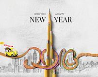 New Year 2016 in Dubai